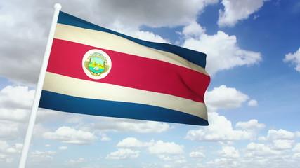 Flag Costa Rica 02