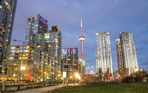 Foto op Plexiglas Canada Toronto panorama,Canada