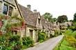 Leinwanddruck Bild - Houses of Arlington Row in the village of Bibury, England