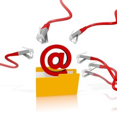 email file folder security attack