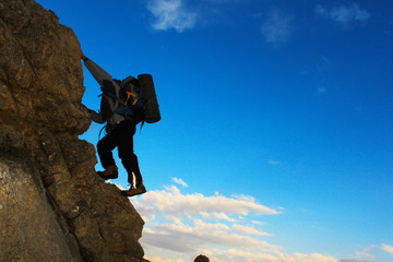 dağcı tırmanış