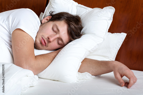 Man sleeping