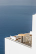 Santorini balconny with view at the sea