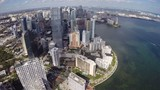 Brickell Miami Florida Aerial video