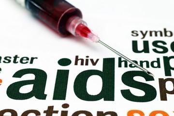 HIV- AIDS concept