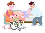 介護師とお婆さん