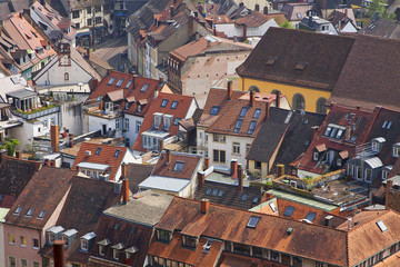 Buildings in Freiburg im Breisgau, Germany