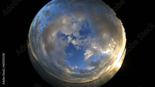amazing beautiful clean cloudscape and sky background time lapse
