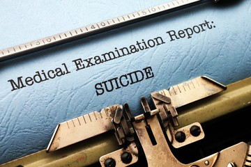 Medical report - Suicide