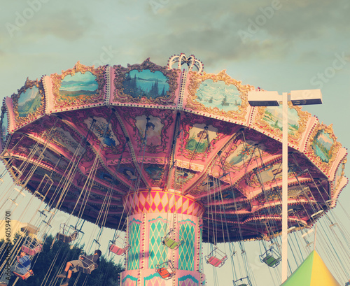 canvas print picture Carousel