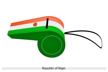 A Whistle of The Republic of Niger