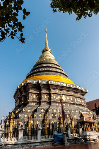 pagoda Wat Phrathat Lampang Luang, in country of Thailand