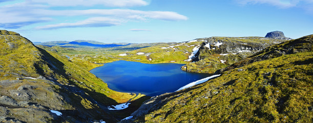 Panorama Hardanger Vidda Norwegen