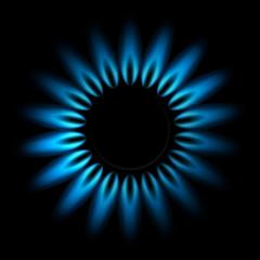 gaz ilustracja wektorowa