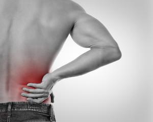 Schmerz im Rücken