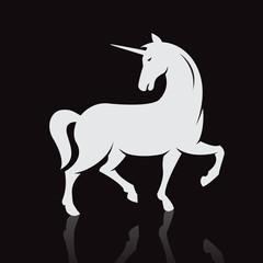 Vector image of an unicorns
