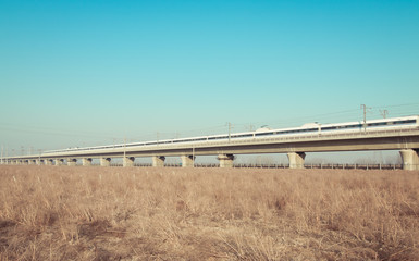 high-speed railway line