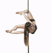 poledancer acrobatics tricks