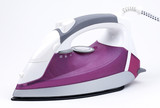 steam iron isolated