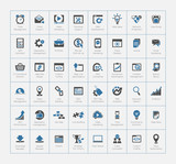 SEO and Development icon set 2 - 60603317