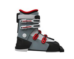 Ski Boot Isolated