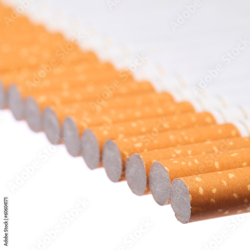 Cigarettes isolated