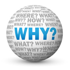 """WHY?"" Globe (questions explanations enquiries help support how)"