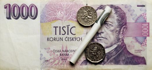Czech peningar 체코어 돈 المال التشيكية