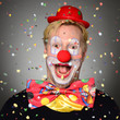 canvas print picture - Clown