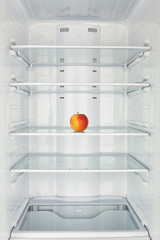 freezer chamber open apple