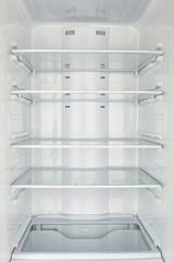 freezer chamber open empty