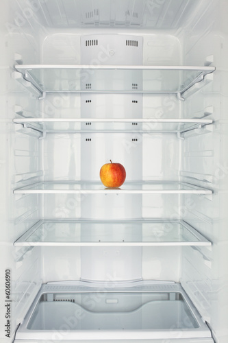 freezer chamber open apple