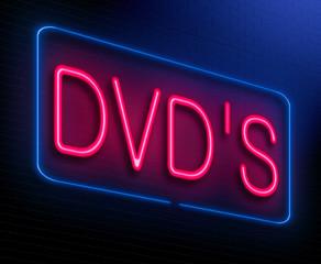 Dvd concept.