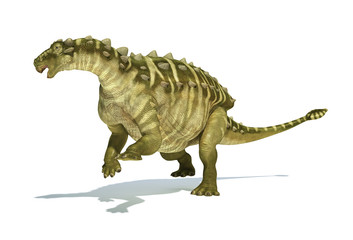 Talarurus dinosaur, photorealistic and scientifically correct re