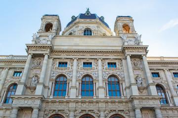 Maria Theresia square in Vienna, Austria