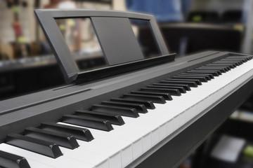 synthesizer keys