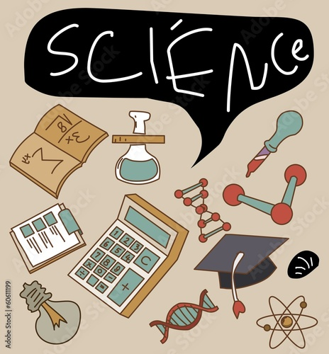 Science Vector set
