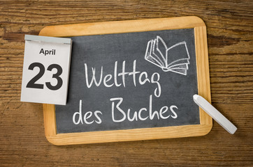Am 23. April ist Welttag des Buches