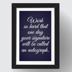 Funny motivational quote. VECTOR illustration.