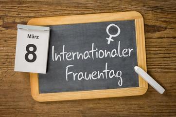 Am 8. März ist Internationler Frauentag