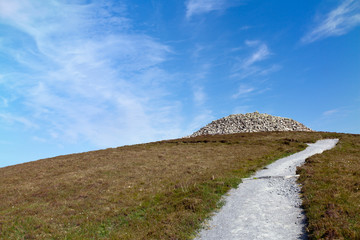 Path to Barpa Langass, Isle of North Uist, Scotland