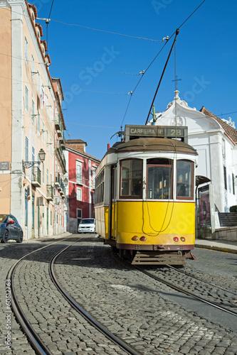 Lisbonne : Tram Jaune - Ligne 28 - 60612763