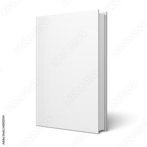 Blank vertical book template. - 60612934