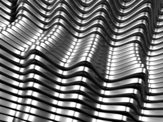 Silver metal abstract background