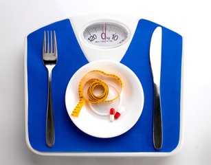 Diet menu for fat people