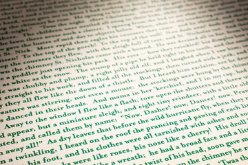 testo stampato
