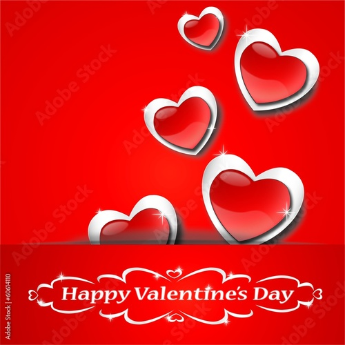 Valentine's Day Blink Love Vector