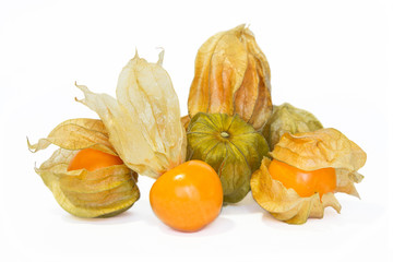 Physalis fruit or Cape Gooseberry.