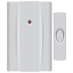 Set Doorbell with Button