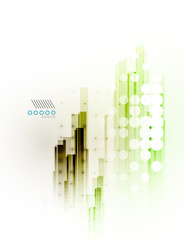 Straight lines futuristic modern background